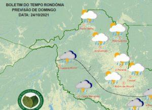 Sipam alerta para chegada de nova friagem em Rondônia neste domingo (24)